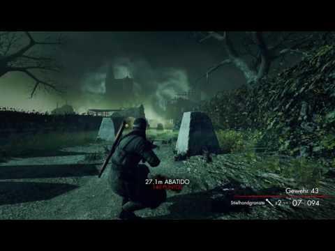 Sniper Elite  Nazi Zombie ( Army Explosive Personality! )