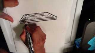 How to Draw a Keyboard - Easy Things To Draw