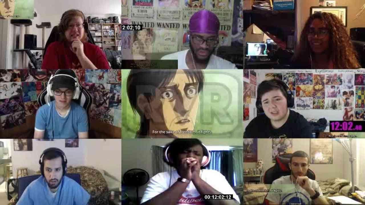 Attack on Titan Season 3 Episode 21 Reaction Mashup ...