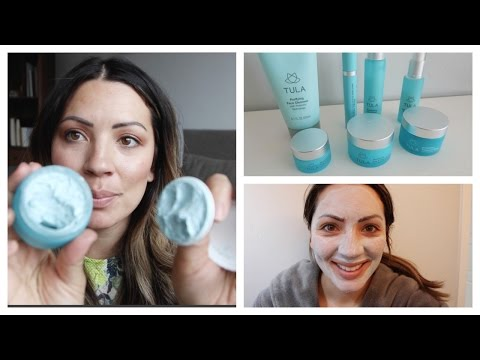 TULA SKINCARE LINE REVIEW | MY CURRENT SKINCARE ROUTINE