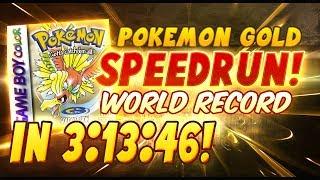 Pokemon Gold World Record Speedrun in 3:13:46