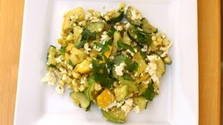 How To Make Calabacitas - A Mexican Zucchini Recipe - It's Gluten Free By Rockin Robin