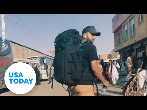 Afghanistan: Filmmaker shows what it's like to evacuate from Kabul | USA TODAY