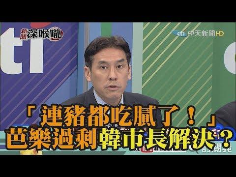 《新聞深喉嚨》精彩片段 「連豬都吃膩了!」芭樂過剩還要韓市長解決?