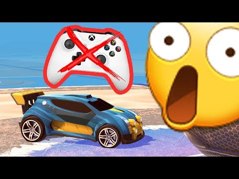 Rocket League with no hands....VOICE ONLY! thumbnail