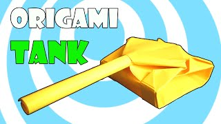 Easy Paper Origami Tank Instructions