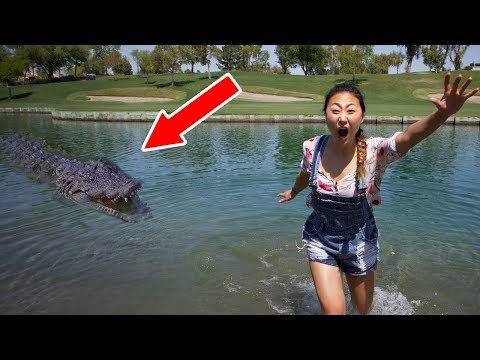 POND MONSTER ATTACK!!