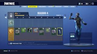 *NEW* HYPE DANCE IN FORTNITE BATTLE ROYALE! Season 4 battle pass