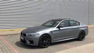 BMW M5 2018 test PL Pertyn Ględzi
