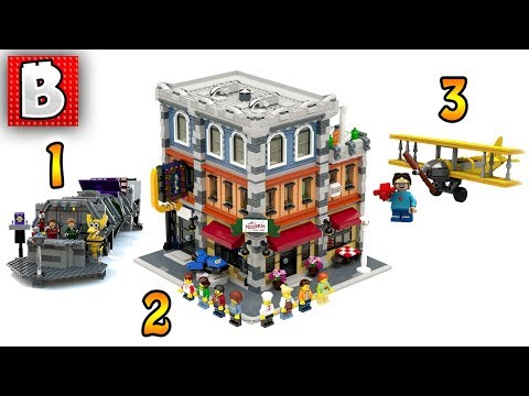 Three New LEGO IDEAS Sets Added for Review!!! | LEGO News