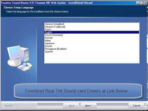 Realtek hd audio codec driver 2. 82 for windows vista, 7, 8 and xp.