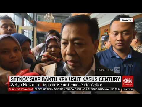 Setya Novanto Jual Aset Untuk Uang Pengganti Korupsi & Siap Bantu KPK Usut Kasus Century