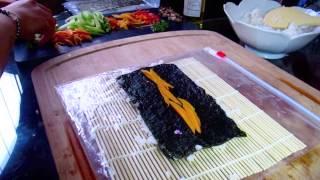 Delicious Veggie Vegan Sushi Recipe