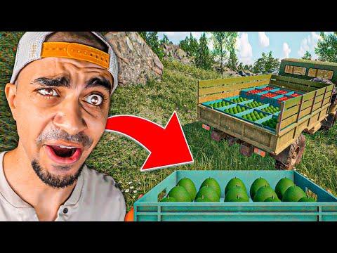 محاكي حياة المزارع - لعبة رهيبة 😍🔥 - Farmer Life Simulator