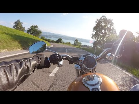 Welcome Aboard 10 - my Harley Sportster rides into the sunset, ZOOM H1 audio