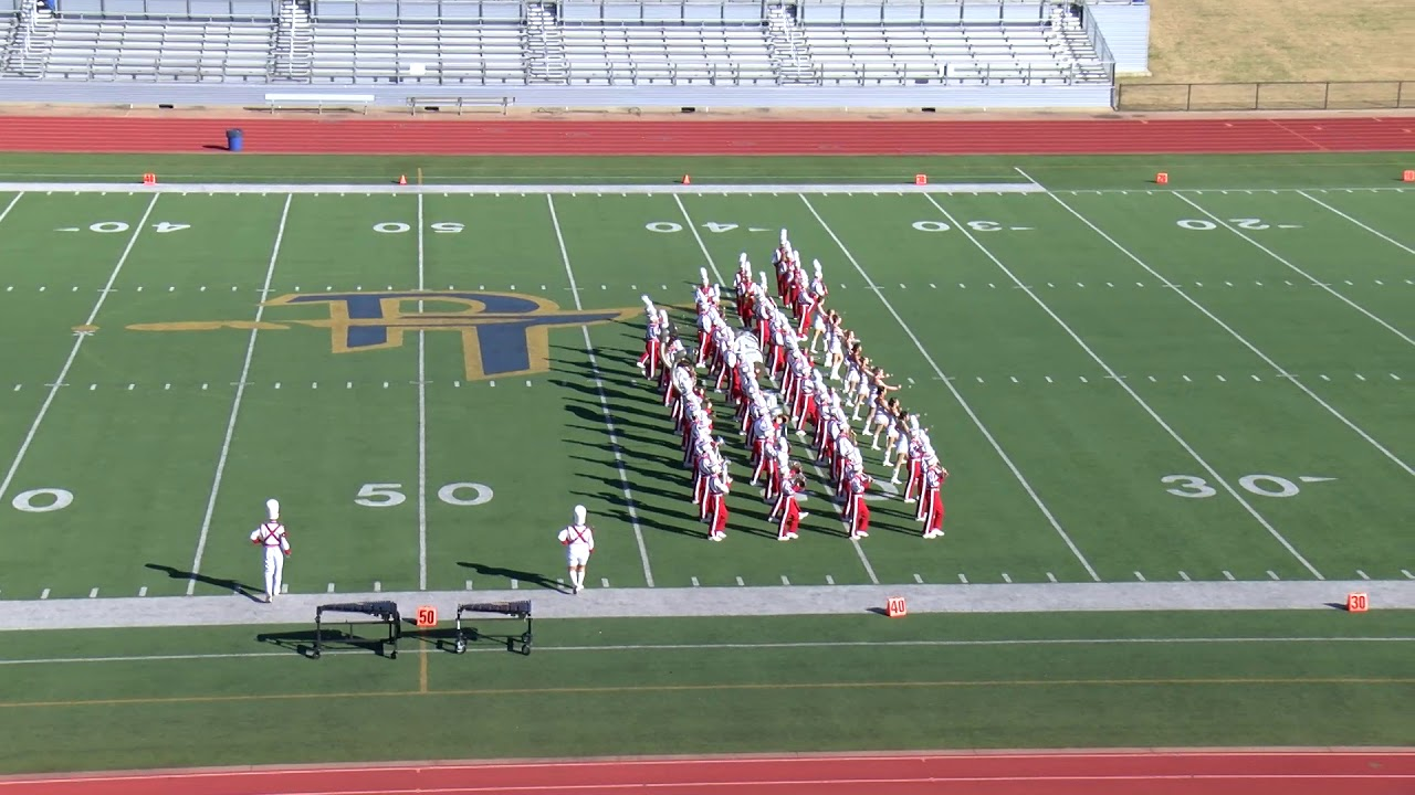 2020 UIL State Military Marching Championship Performance