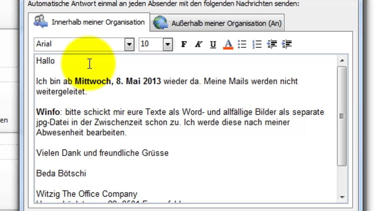 Nett Automatische Antwortvorlage Ideen - Entry Level Resume Vorlagen ...