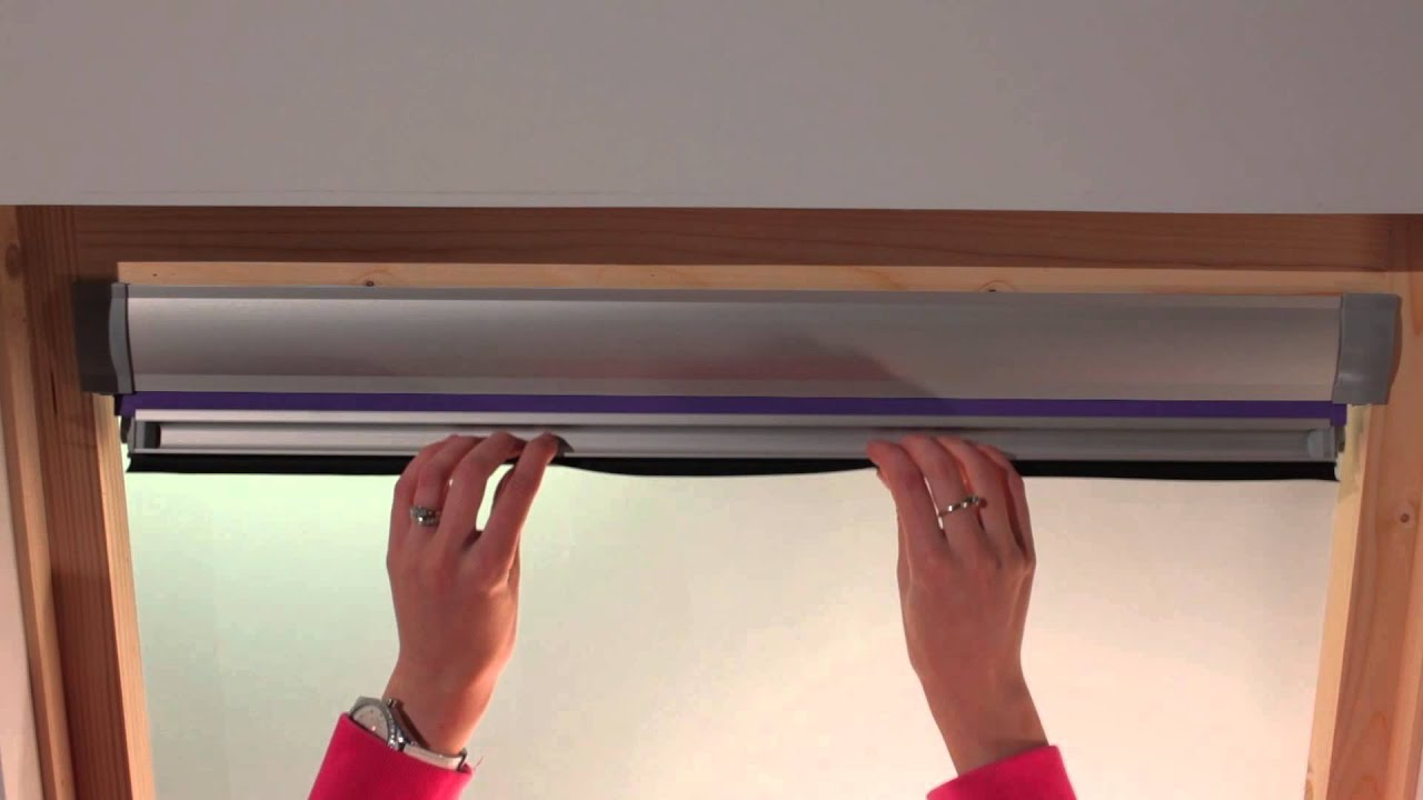 Fitting Our Blinds For Velux Windows In 3 Minutes Or Less