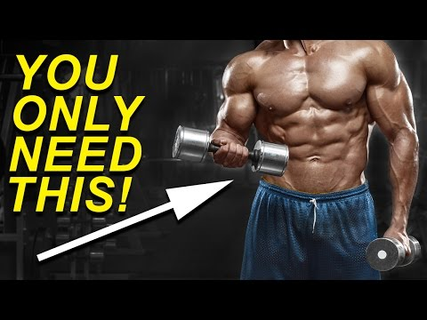 Min Full Body Workout With Dumbbells Build Muscle Easily