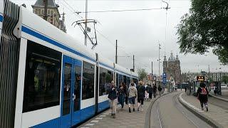 【路面電車】オランダ・アムステルダムのトラム / Tram in Amsterdam Netherlands【世界の鉄道シリーズ】