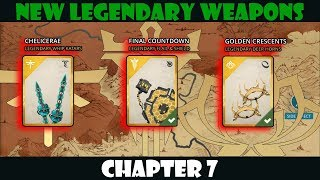 Shadow Fight 3: All New Legendary Weapons in Chapter 7 √