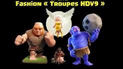 Compo HDV9 : Cochon-Géant-Guérisseuse-Bouliste (HGHB)