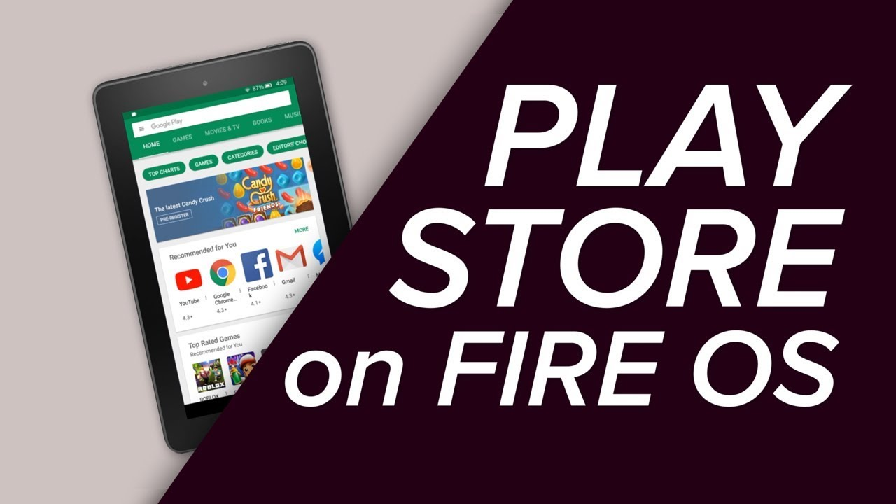 where is the google play store app on kindle fire
