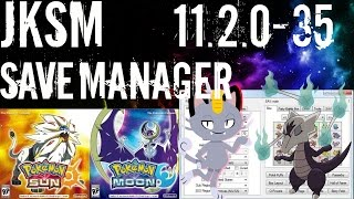 How To Use JKSM/Save Manager and PKHEX Pokemon Sun Moon 11 2 0-35