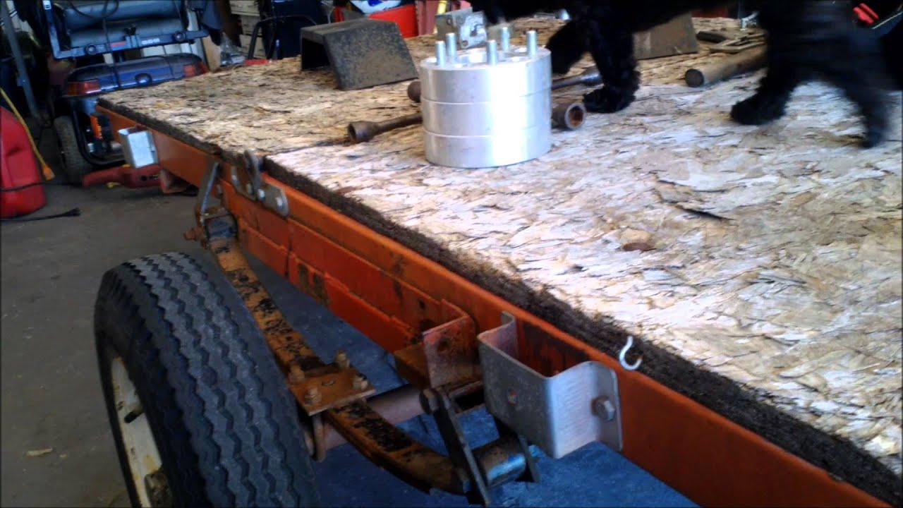 Harbor Freight Folding Trailer Mods