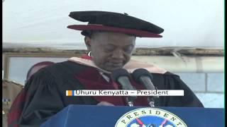 President Kenyatta Awarded Honorary Doctorate In Leadership