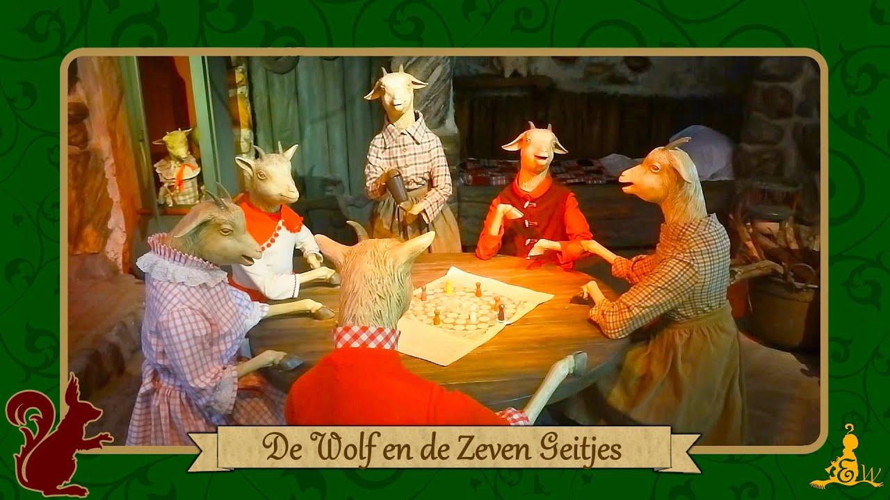 efteling sprookjesbos wolf en de zeven geitjes