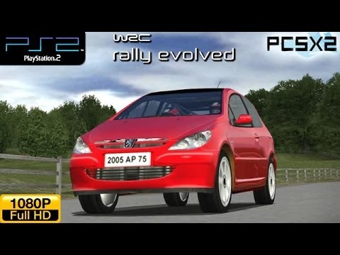 WRC Rally Evolved - PS2 Gameplay (Peugeot 307 Berline)  1080p part 11 (PCSX2)