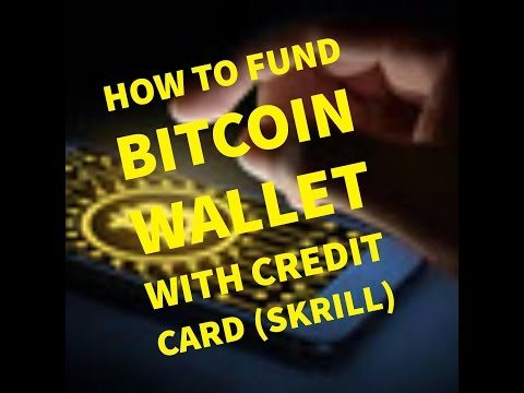 How To FUND Bitcoin Wallet With Skrill........