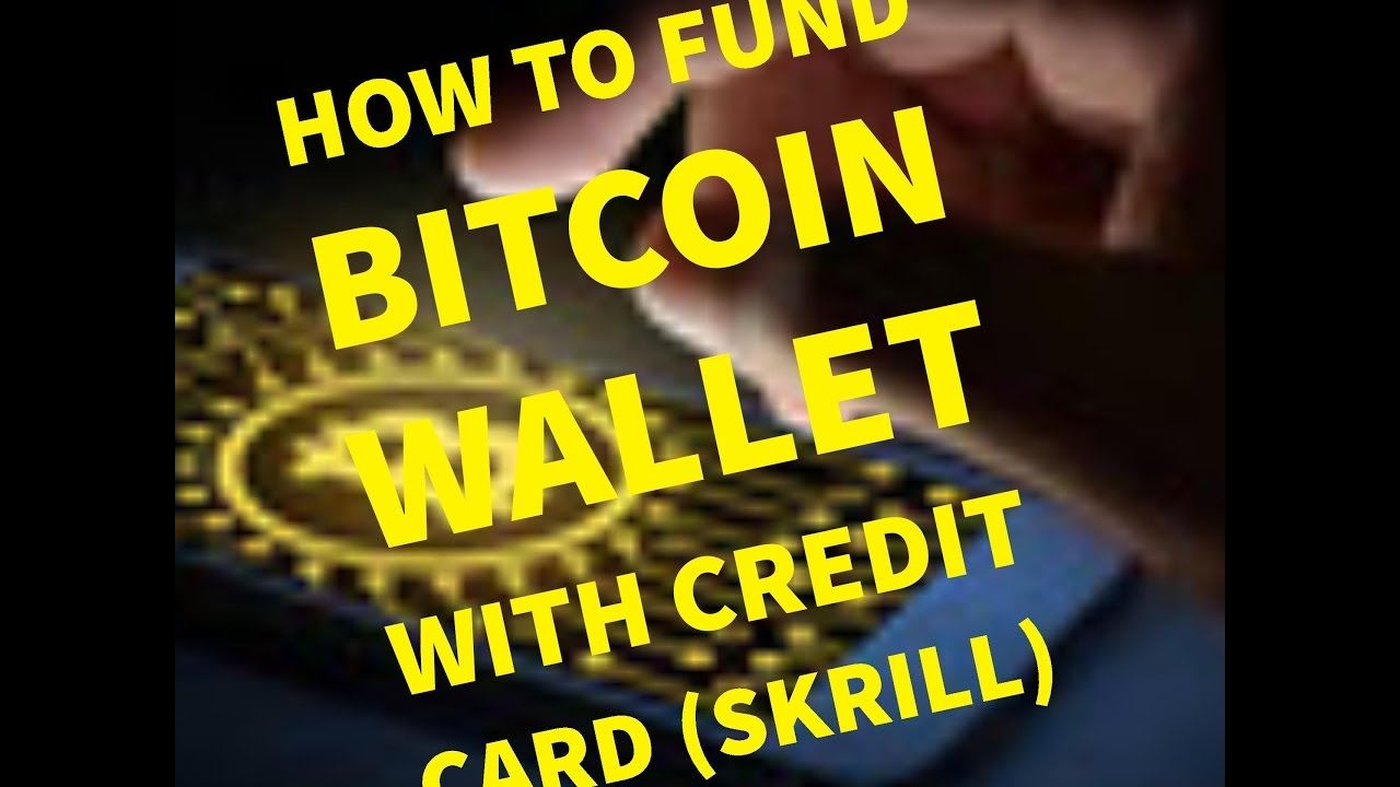 how to fund bitcoin wallet