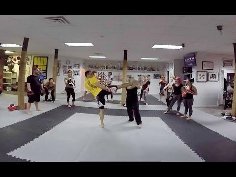 Kickboxing KCRD - Cardio kickboxing drills