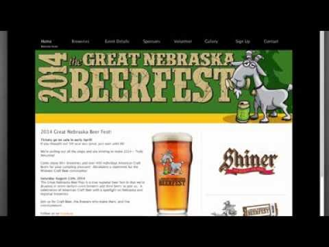 Great Nebraska Beer Fest Web Application
