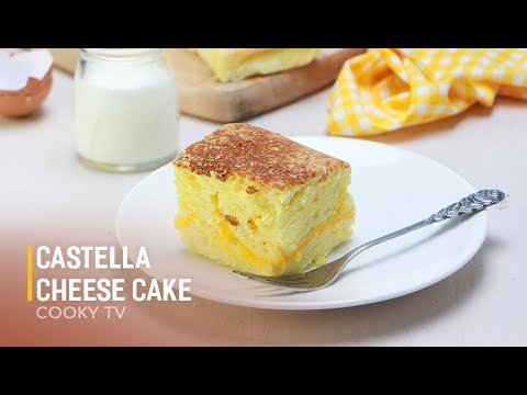 Cách làm BÁNH Castella | How to make Castella Cheese Cake | Huong dan – Cooky TV