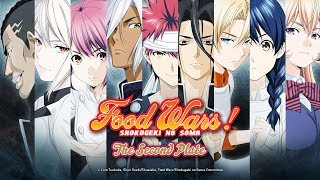 Food Wars! The Second Plate – 2. Staffel (Anime-Trailer)
