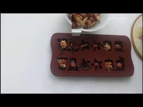 Как сделать шоколадные конфеты в домашних условиях в формочках