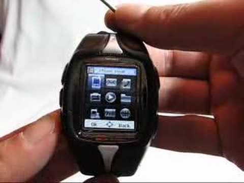 REAL Unlocked TRI-BAND PDA Mobile PHONE Watch Work in USA