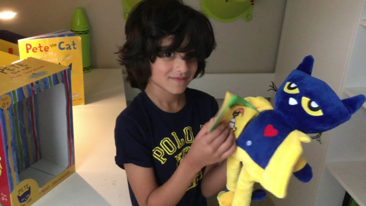 Pete The Cat Plush Toy Youtube