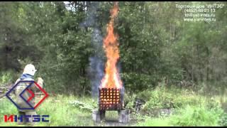 Тушение очага 2A. Огнетушащий попрошок ИНТЭС - ABCE(Данное испытание было проведено по всем стандартам ГОСТ по тушению модельного очага ранга 2A. C одним лишь..., 2013-08-25T09:24:22.000Z)