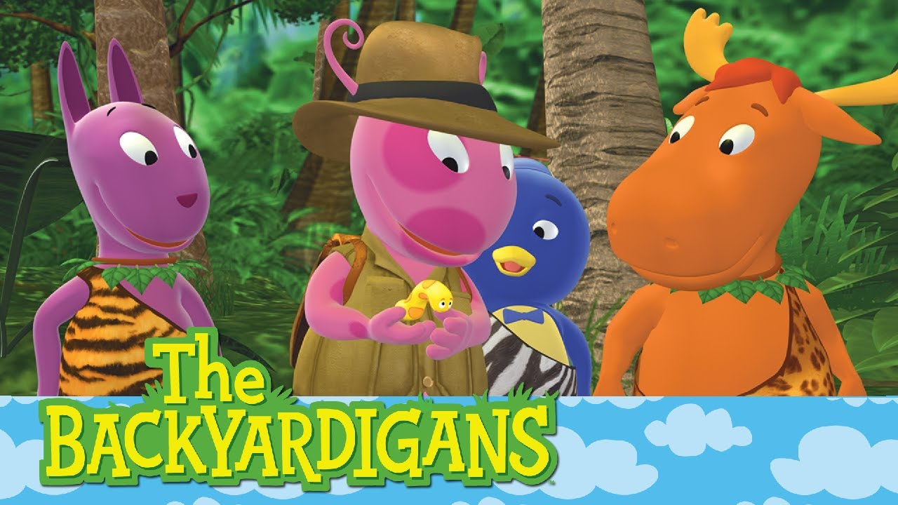 The Backyardigans The Heart Of The Jungle Ep 2 Youtube