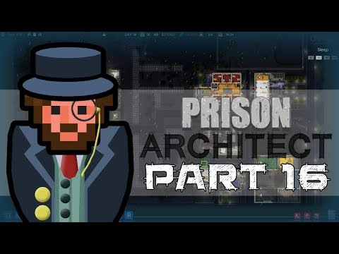 Let's Play - Prison Architect - Staff Room Naptime