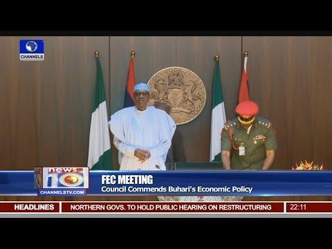 President Buhari Presides Over FEC Meeting In Abuja Pt.1 |News@10| 13/09/17