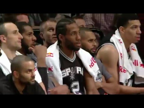 San Antonio Spurs Top 10 Plays of NBA 2015-16 Season