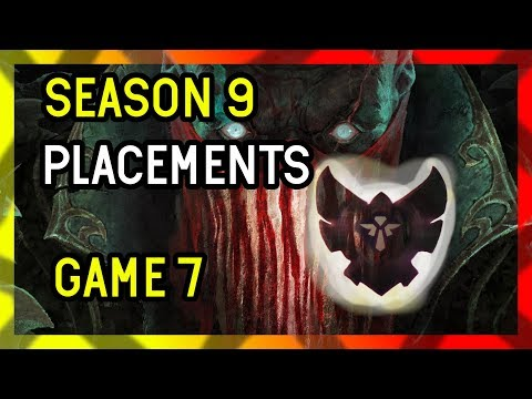 Game 7 - Season 9 Support Placements League of Legends - Support PYKE thumbnail