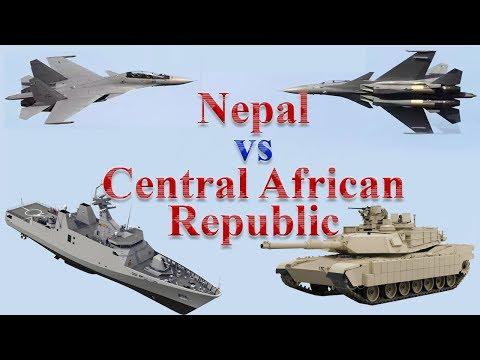 Nepal vs Central African Republic Military Comparison 2017