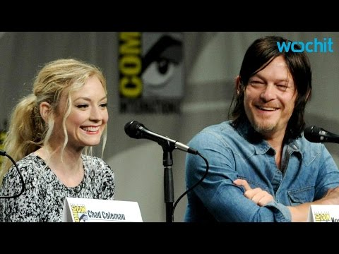Norman reedus dating emily