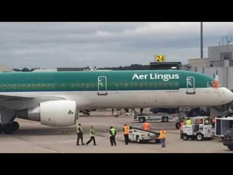 Aer Lingus at Bradley International Airpot